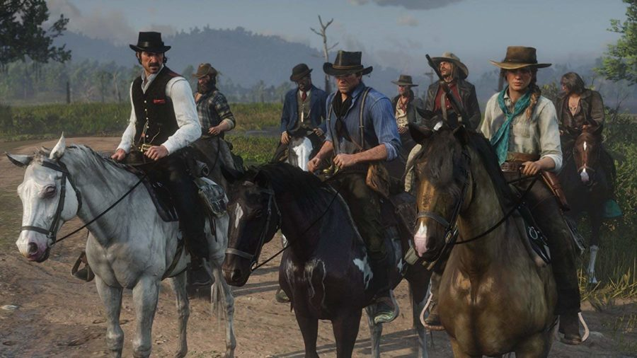 red dead first scene